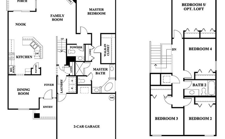 Storey Bedroom House Plans Homes Floor