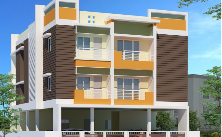 Storey Residential Building Design Top Home