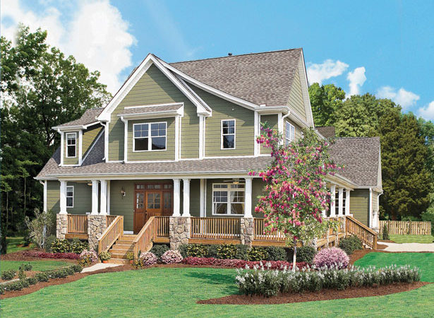 Story Country House Plans Home Designs