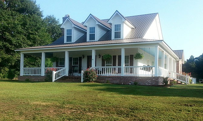 Story Farmhouse Plans Wrap Around Porch Ideas