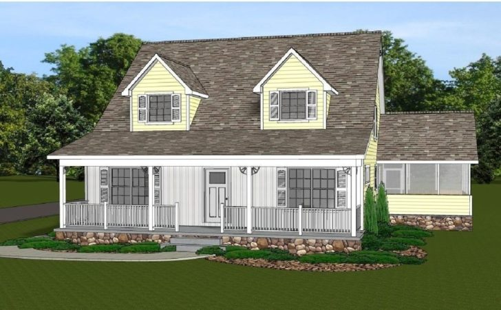 Story Home House Plan Blueprings