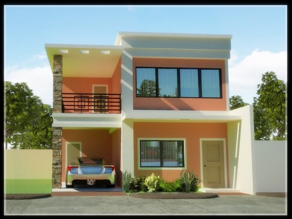 Story House Exterior Designs Housedesignpictures