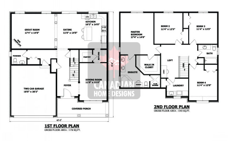 Story House Floor Plans Best Ideas Two