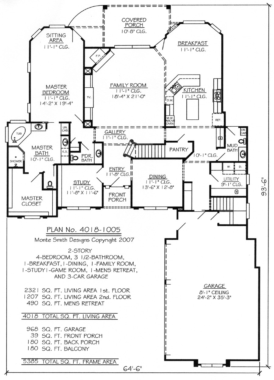 Story House Floor Plans Loft Trend Home Design