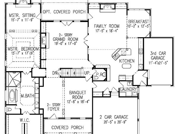 Story House Plans Balcony Joy Studio Design