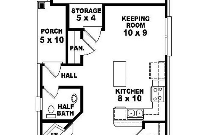 Story Traditional Narrow Lot House Plan