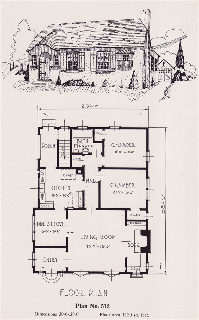 Storybook Cottage House Plans Tiny
