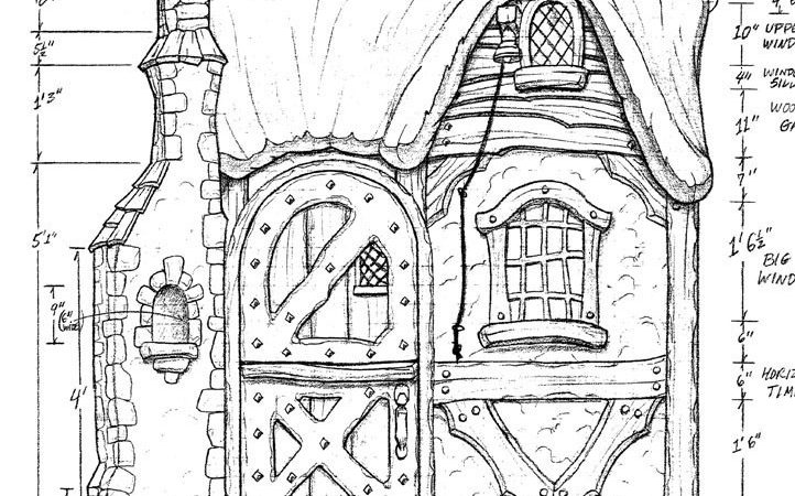 Storybook Cottage Plans House Design
