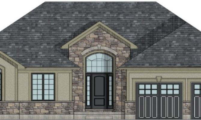 Stunning Canadian House Home Plans