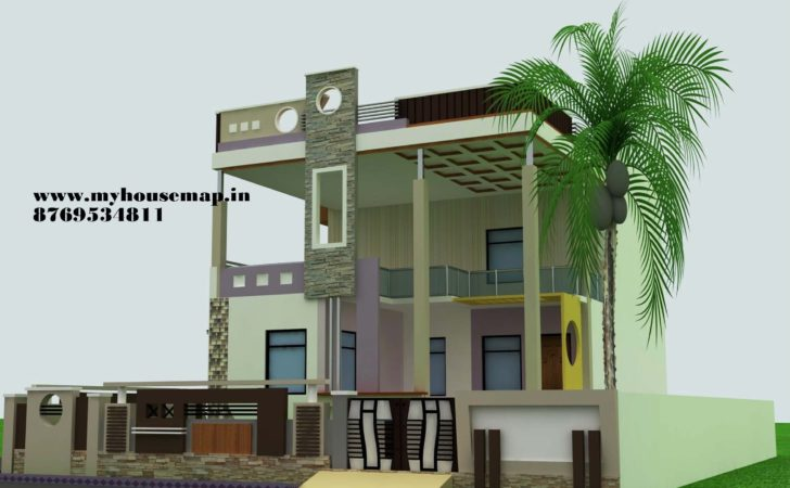 Stunning Duplex House Front Elevation Designs