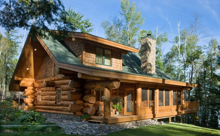 Stunning Log Homes Designed Pioneer
