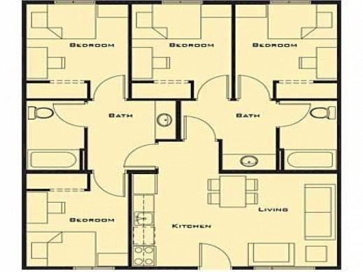 Stunning Small Bedroom House Plans Two Story