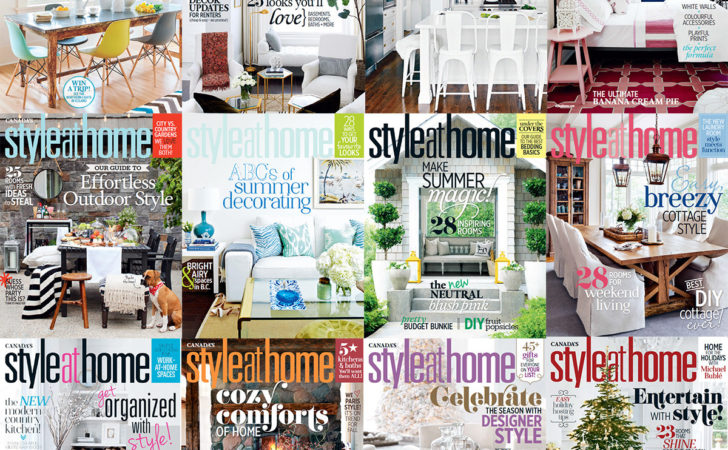 Style Home Canada Year Issues Collection
