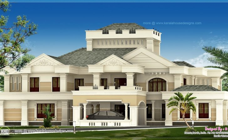 Super Luxury Kerala House Exterior Home Design