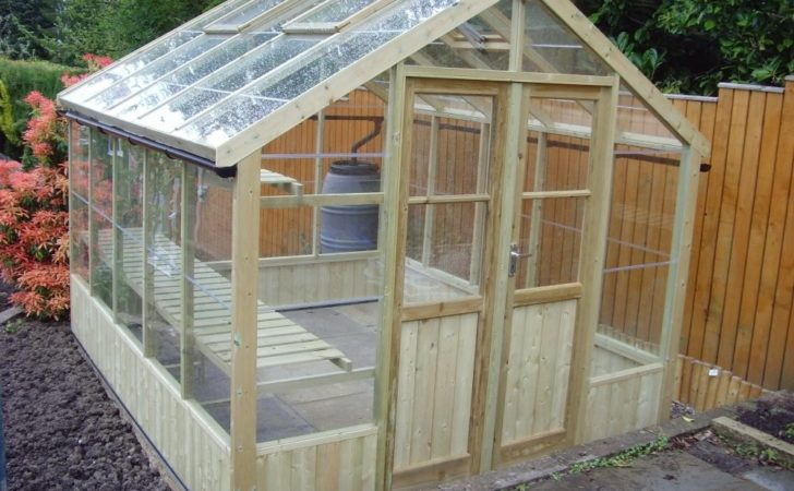 Swallow Greenhouses Ultimate Wooden Greenhouse