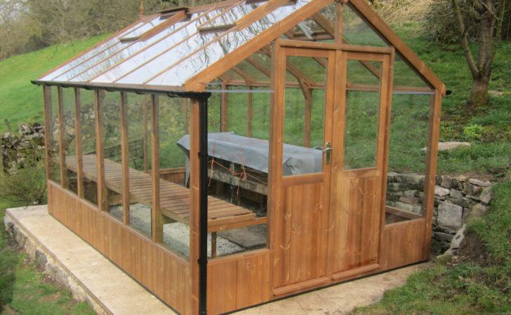 Swallow Raven Wooden Greenhouse Stores