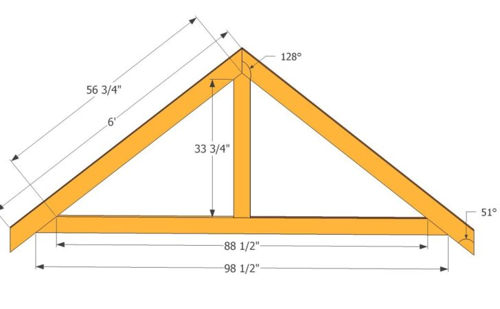 Tae Gogog Build Roof Trusses Shed