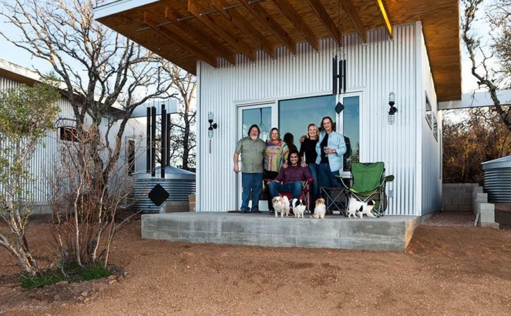 These Best Friends Built Tiny House Community Texas