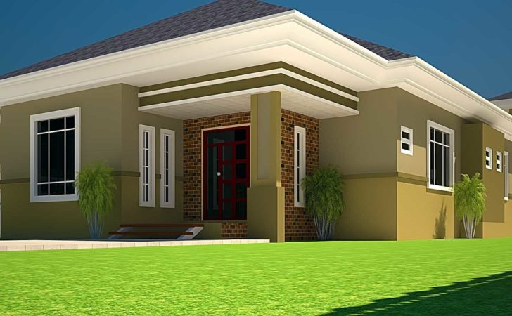 Three Bedroom Bungalow House Plans