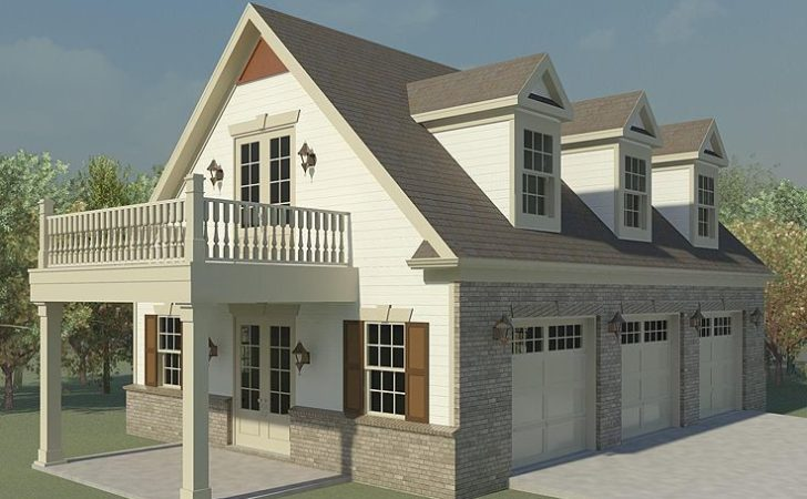 Three Car Garage Design Loft Plushemisphere