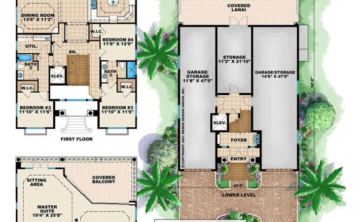 Three Story House Plans Modern Contemporary Homes