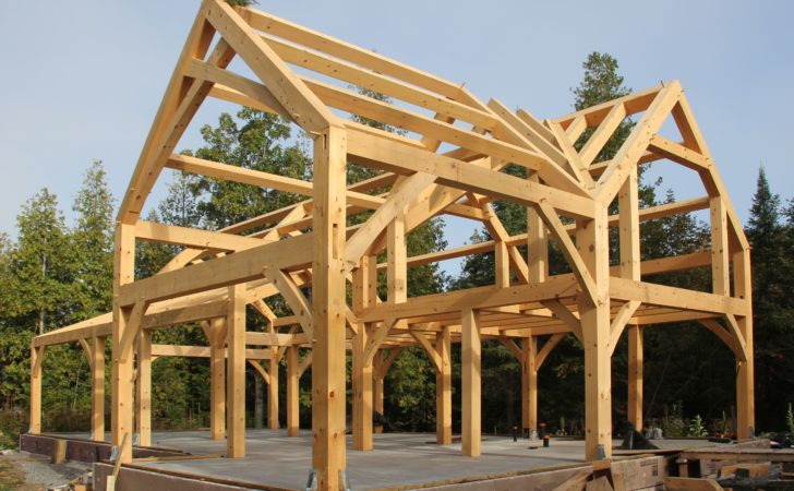 Timber Frame House Cold Climate Part