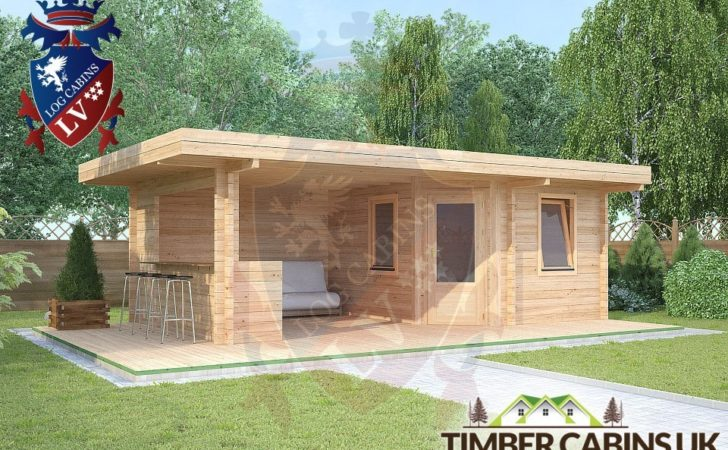Timber Log Cabin Buildings Cabins Living