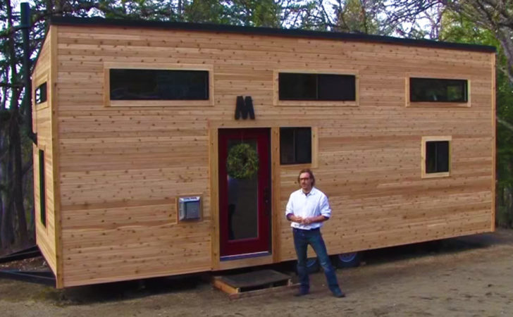 Tiny House Built Months Off Grid World