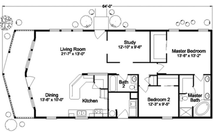 Tiny House Floor Plan Two Bedrooms Complete