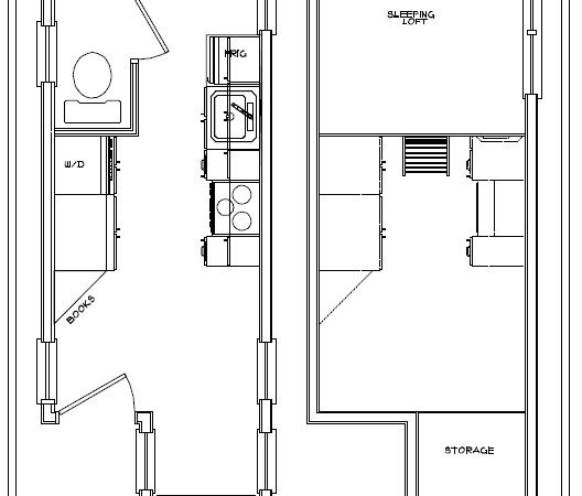 Tiny House Floor Plans American