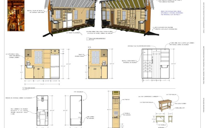 Tiny House Floor Plans Small