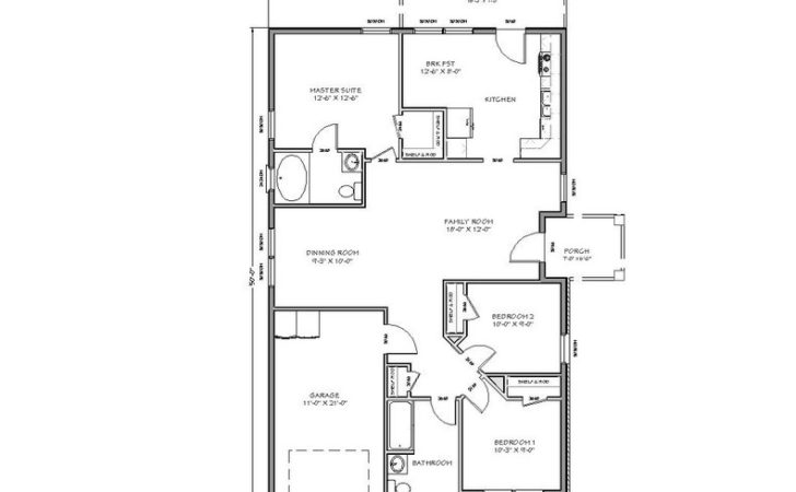 Tiny House Floor Plans Two Room Bedroom Large