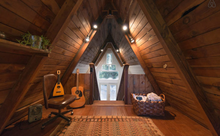 Tiny House Looks Like Only Roof But Inside Whoa