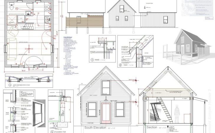 Tiny House Plan Sale Robert Swinburne Vermont Architect