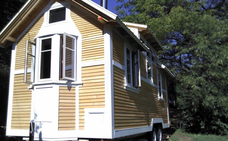 Tiny House Tour Second Wall Goes Comet Camper