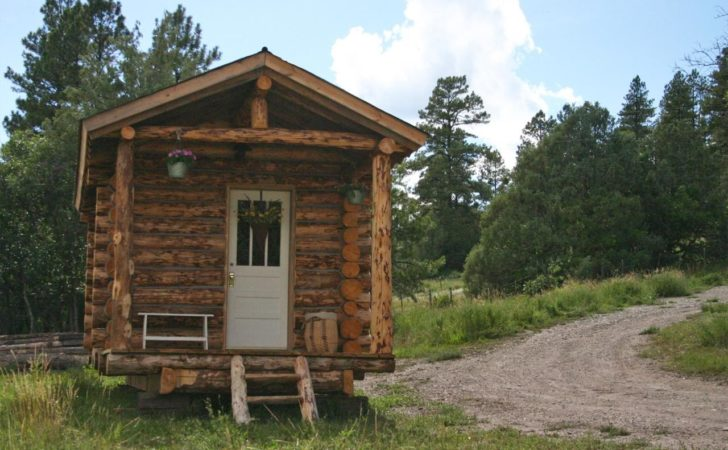 Tiny Log Cabin Jalopy Cabins