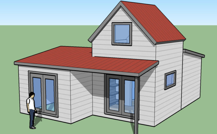 Tiny Simple House Off Back Burner