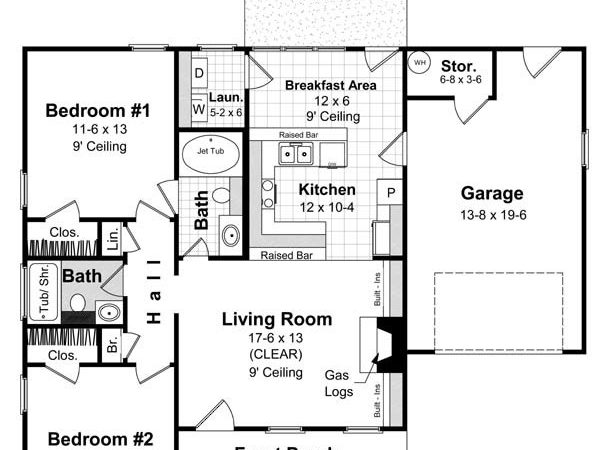 Tips Create Simple House Design Two Bedrooms