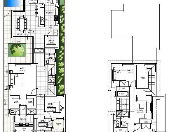 Top Narrow Urban Home Plans Small Lot Inner City