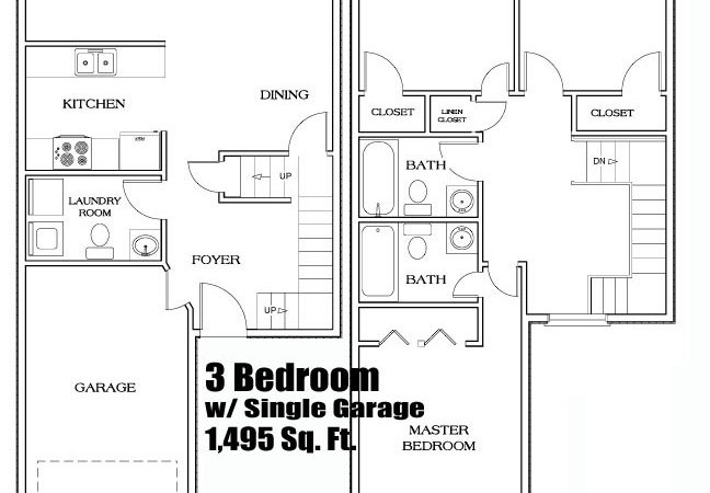 Town House Floor Plans Find