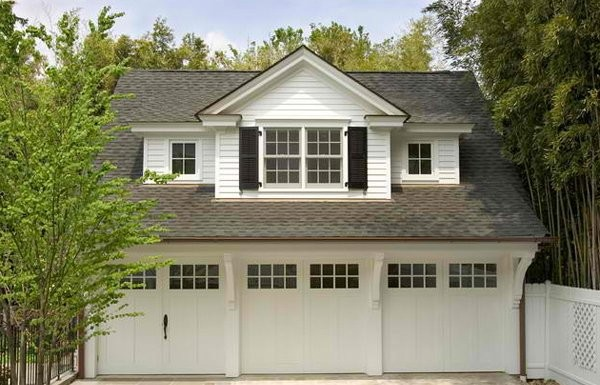 Traditional Architecture Inspired Detached Garages