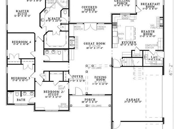 Traditional House Plan Ultimate Home Plans