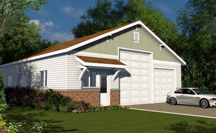 Traditional House Plans Garage Associated
