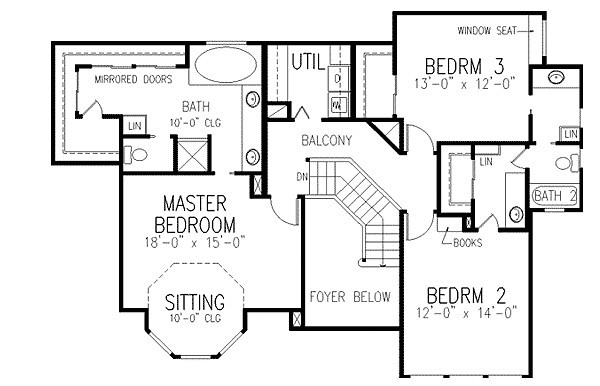 Traditional Victorian Home Plan Architectural