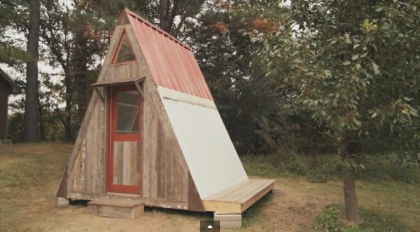 Transforming Frame Micro Cabin Can Build