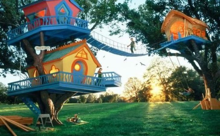 Tree Houses Kids These Some Coolest