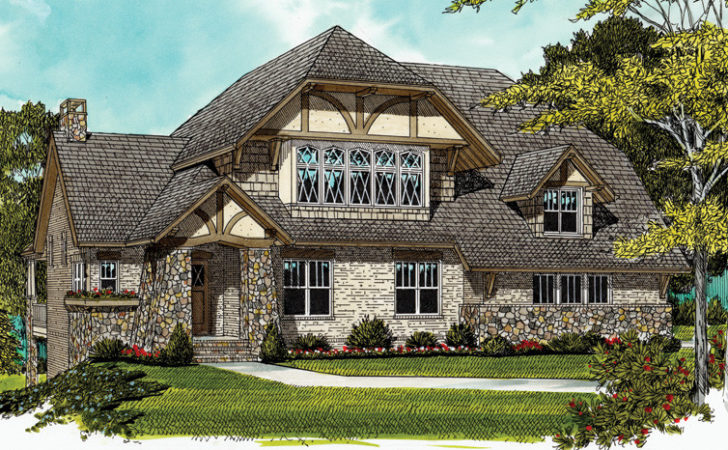 Tudor Home Plans Style Designs Homeplans