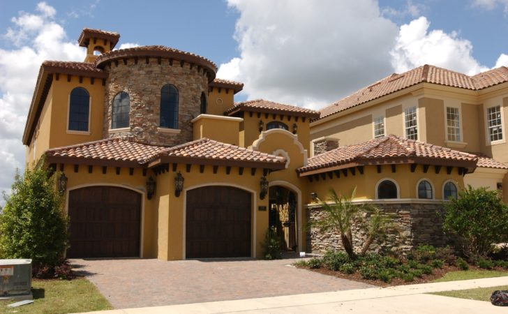 Tuscan Home Design Style Homes