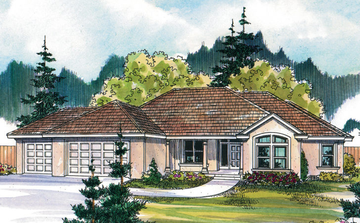 Tuscan House Plans Brittany Associated Designs