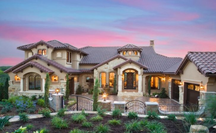 Tuscan Style House Plans Courtyard